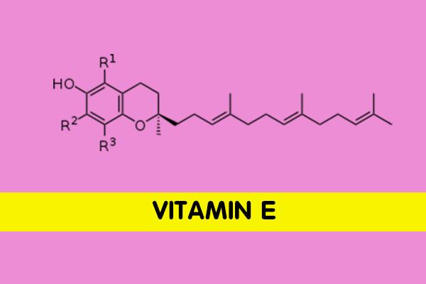 Thành phần vitamin E có trong Charme Secret có tác dụng chống lão hóa