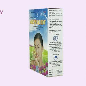 Hình ảnh hộp thuốc Acnequidt