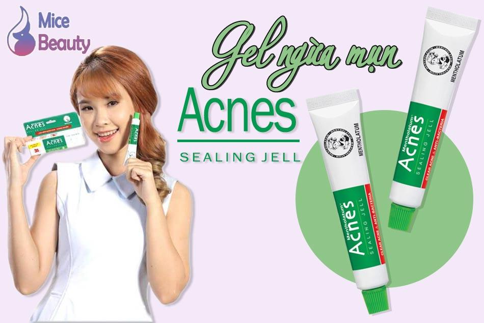 Gel ngừa mụn Acnes Sealing Jell