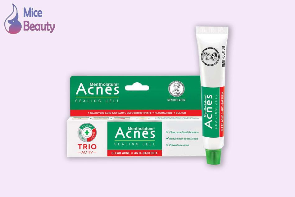 Dạng đóng gói của sản phẩm Acnes Sealing Jell