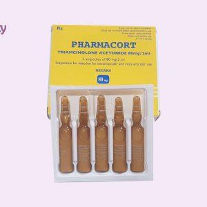 Thuốc Pharmacort bào chế dạng dung dịch tiêm