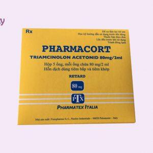 Pharmacort điều trị tình trạng sẹo lồi
