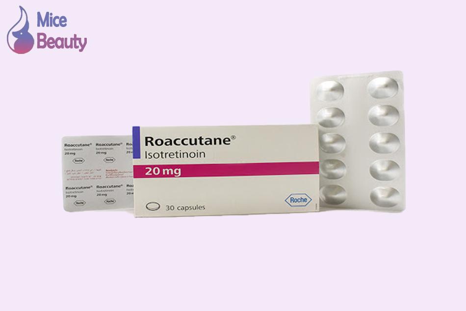 Dạng đóng gói của thuốc Roaccutane 20mg