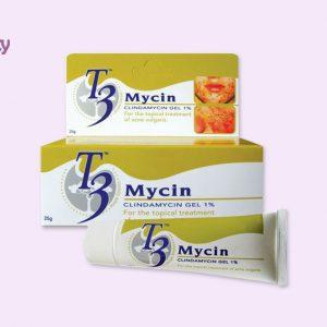 Dạng đóng gói của gel T3 Mycin