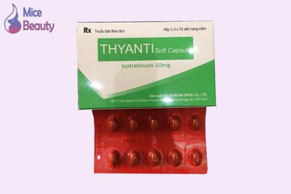 Dạng đóng gói của thuốc Thyanti