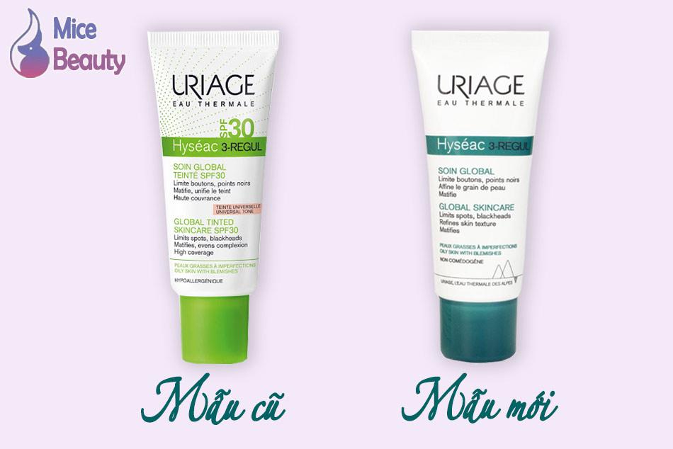 Sản phẩm Uriage Hyséac 3 - Regul có sự thay đổi về bao bì