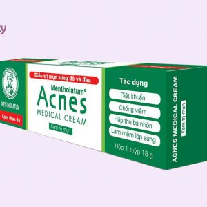 Hình ảnh hộp sản phẩm Acnes Medical Cream