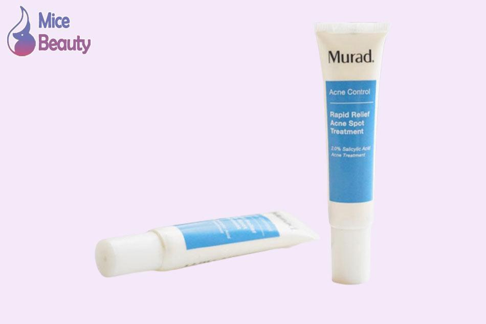 Kem trị mụn Murad chứa các thành phần tự nhiên