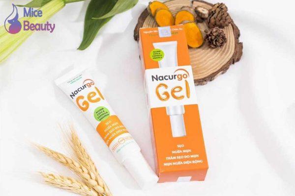 Nacurgo gel có công dụng gì?