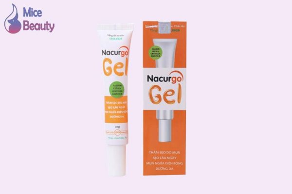 Hình ảnh kem trị sẹo Nacurgo gel