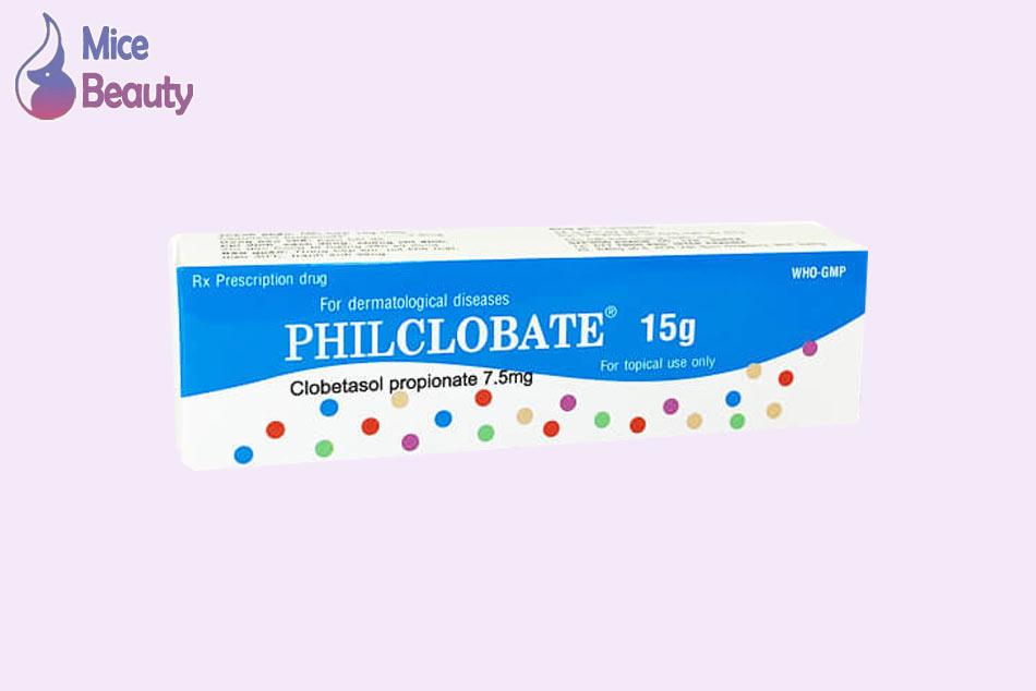 Philclobate điều trị các bệnh da liễu