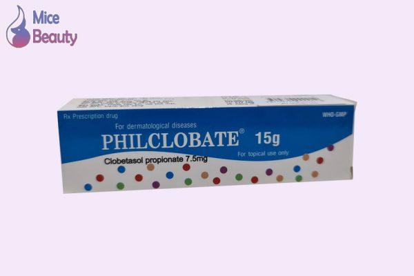 Hình ảnh hộp thuốc Philclobate