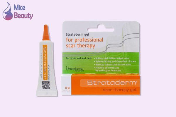 Dạng đóng gói của gel Strataderm