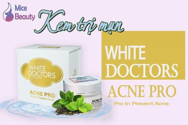 Kem trị mụn White Doctors Acne Pro