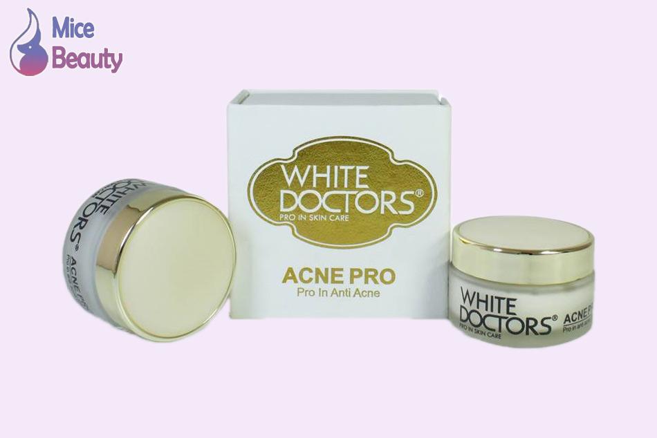 Dạng đóng gói của sản phẩm White Doctors Acne Pro