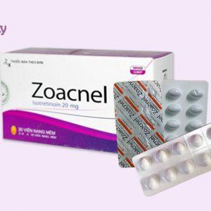Dạng đóng gói của thuốc Zoacnel 20mg
