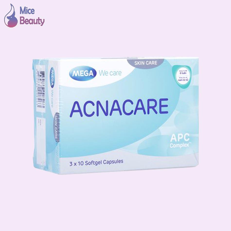 Acnacare hỗ trợ trị mụn hiệu quả