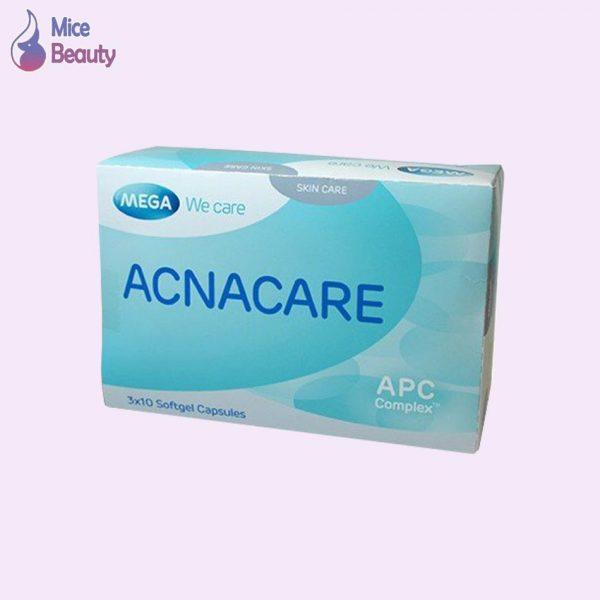 Hình ảnh hộp viên uống Acnacare