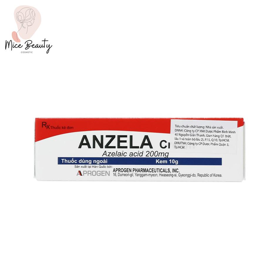 Hình ảnh hộp sản phẩm Anzela-Cream