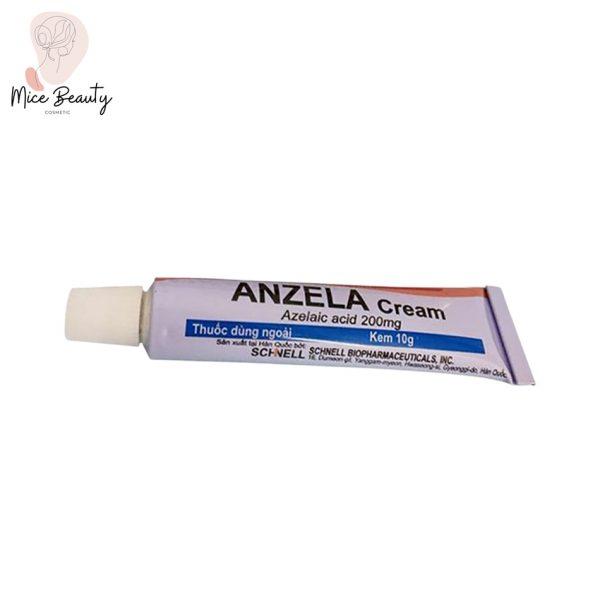 Hình ảnh tuýp sản phẩm Anzela-Cream