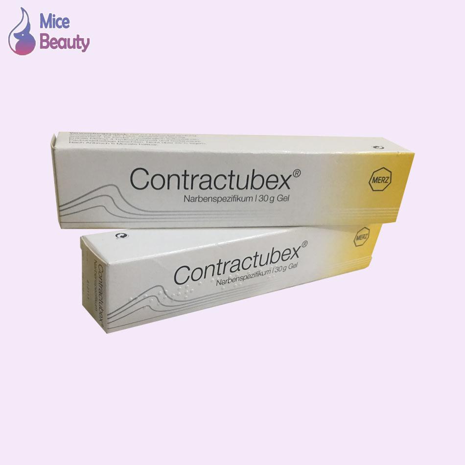 Hình ảnh hộp kem trị sẹo Contractubex