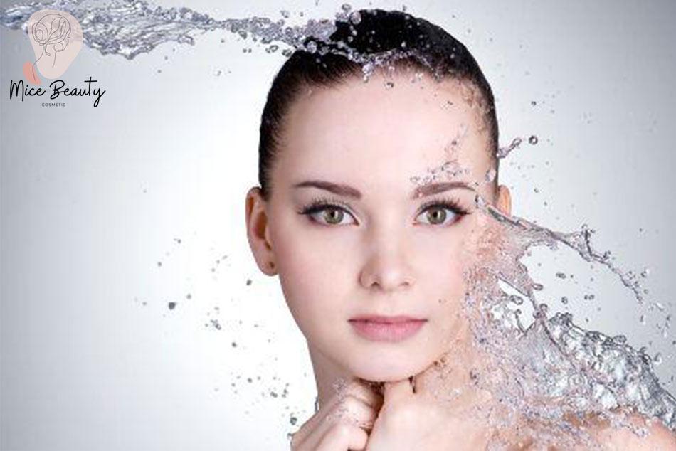 Glycerin làm sạch da hiệu quả