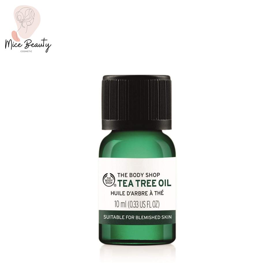 Hình ảnh Serum trị mụn The Body Shop Tea Tree Oil 10ml