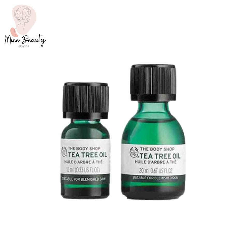 Hình ảnh Serum trị mụn The Body Shop Tea Tree Oil