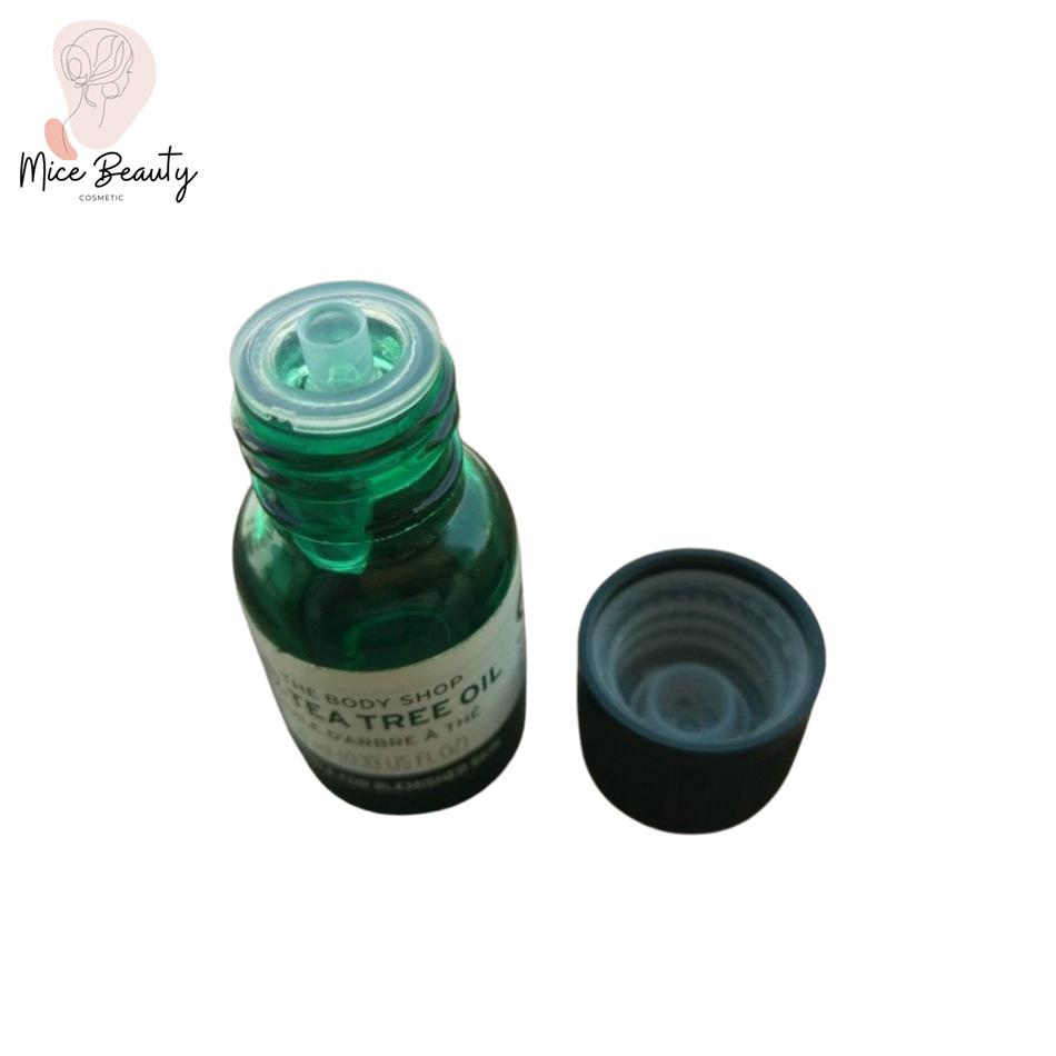 Cấu tạo bên trong nắp lọ serum The Body Shop Tea Tree Oil