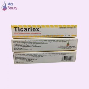 Ticarlox - hỗ trợ điều trị sẹo