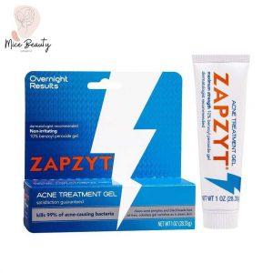 Dạng đóng gói của kem trị mụn Zapzyt
