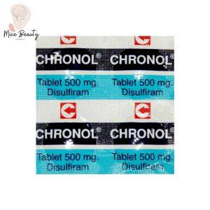 Hình ảnh vỉ thuốc Chronol