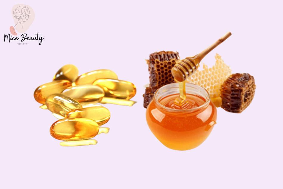 Cách đắp mặt nạ vitamin E với mật ong