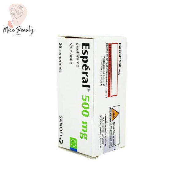 Hình ảnh hộp thuốc Esperal