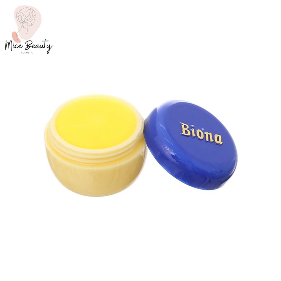 Hình ảnh hộp sản phẩm kem nghệ Biona