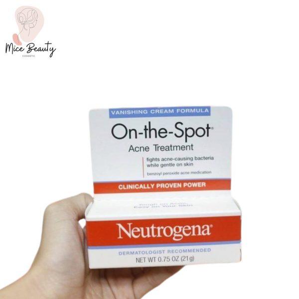 Hình ảnh hộp kem trị mụn Neutrogena