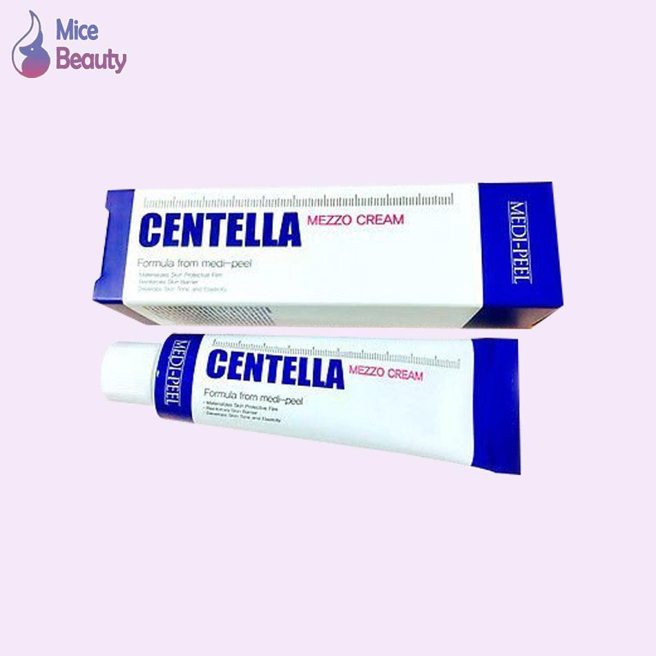 Hình ảnh hộp kem trị mụn Centella Mezzo