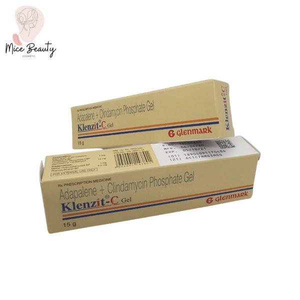 Hình ảnh hộp thuốc Klenzit C