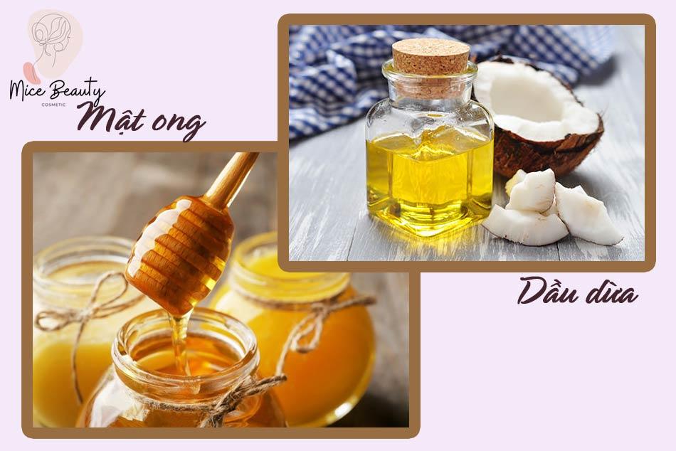 Cách tẩy da chết toàn thân bằng mật ong và dầu dừa