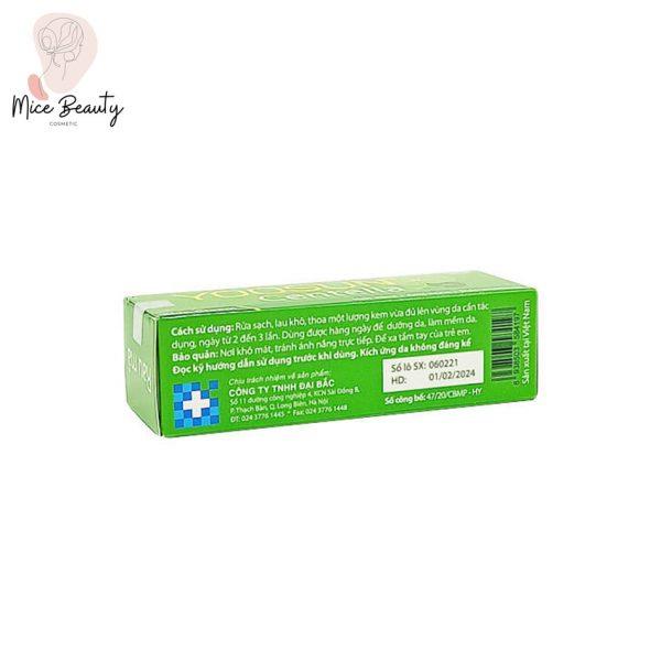 Hình ảnh hộp sản phẩm kem trị mụn Yoosun Rau má