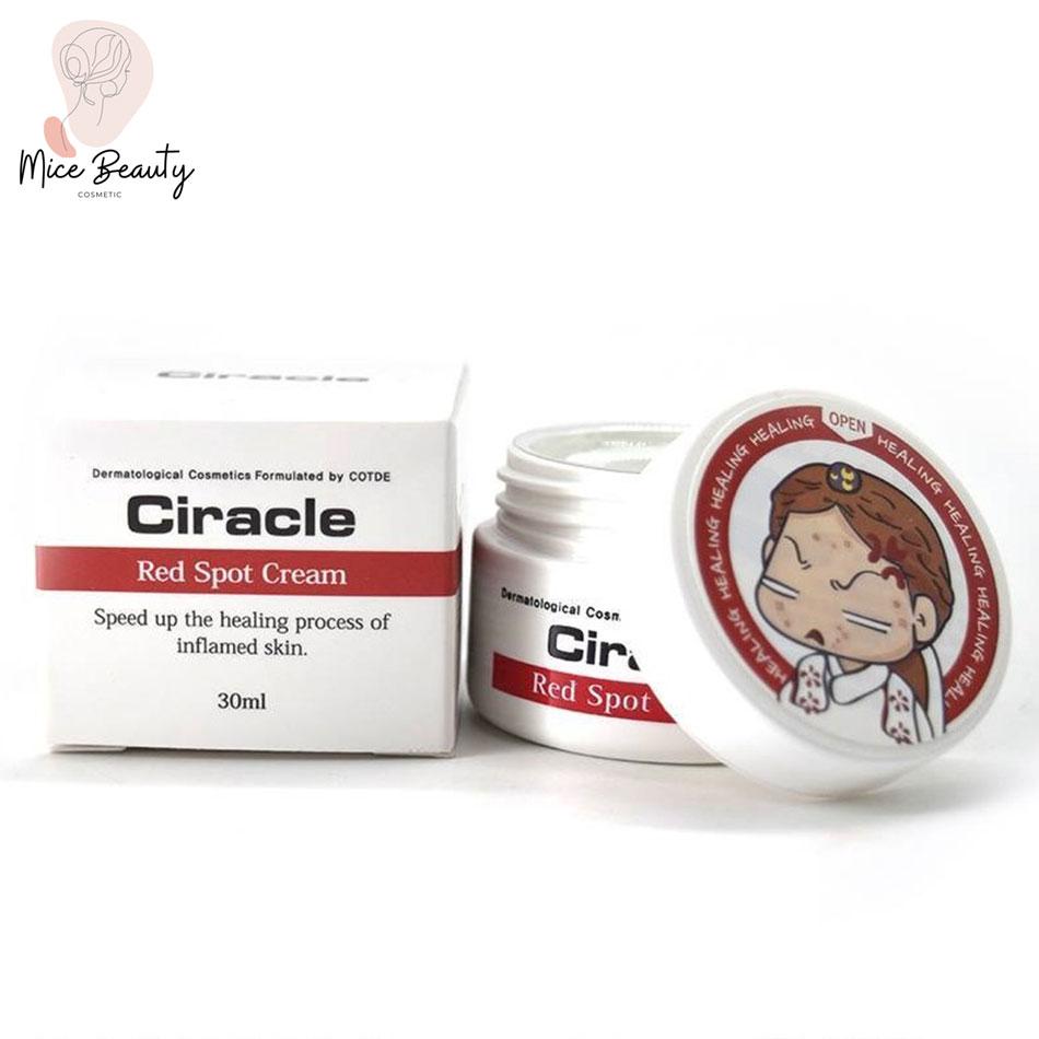 Dạng đóng gói của Ciracle Red Spot Cream