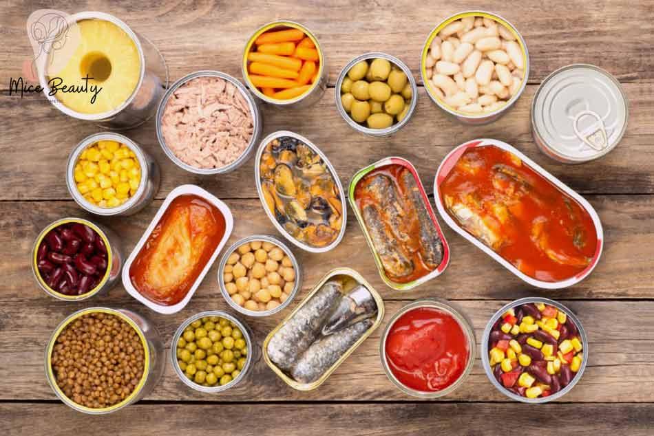 Đồ ăn nhanh, thực phẩm đóng hộp