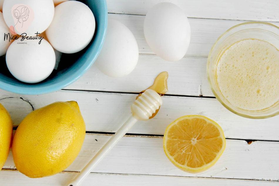 Trị mụn li ti với trứng gà và nước cốt chanh