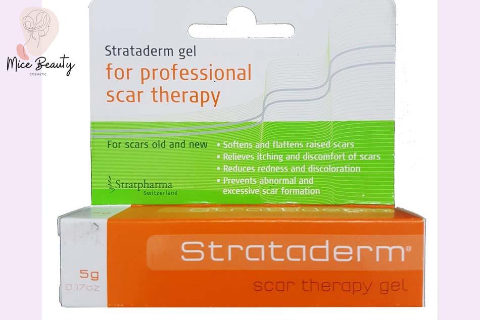 Thuốc trị sẹo Strataderm Scar Therapy Gel