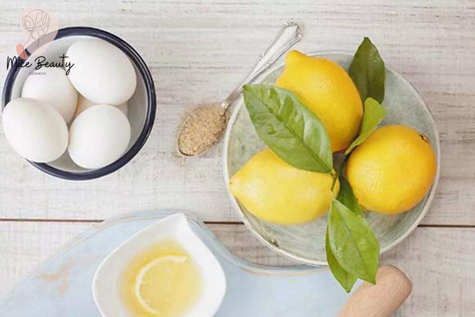 Công thức kết hợp chanh và trứng gà giúp trị sẹo hiệu quả