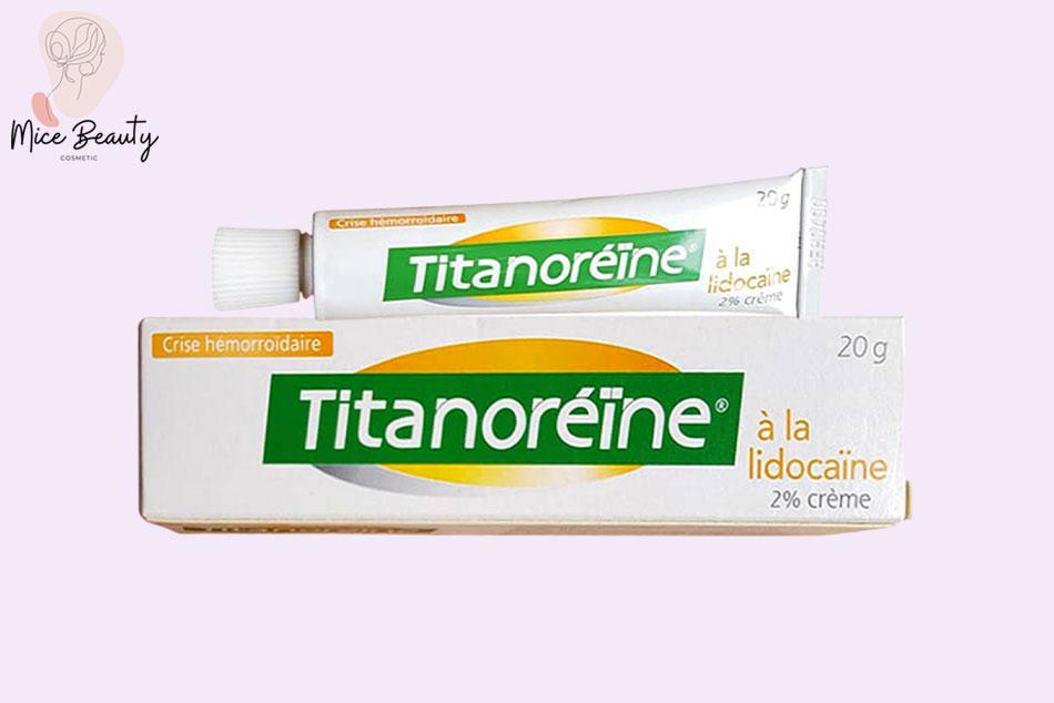 Thuốc bôi trĩ Titanoreine