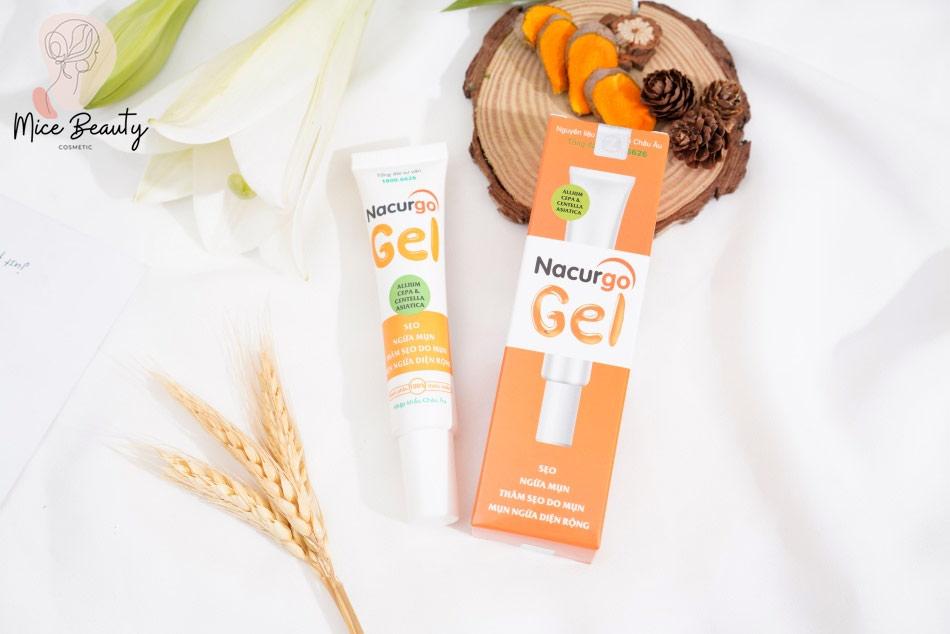Nacurgo gel – kem trị mụn ẩn tốt nhất hiện nay
