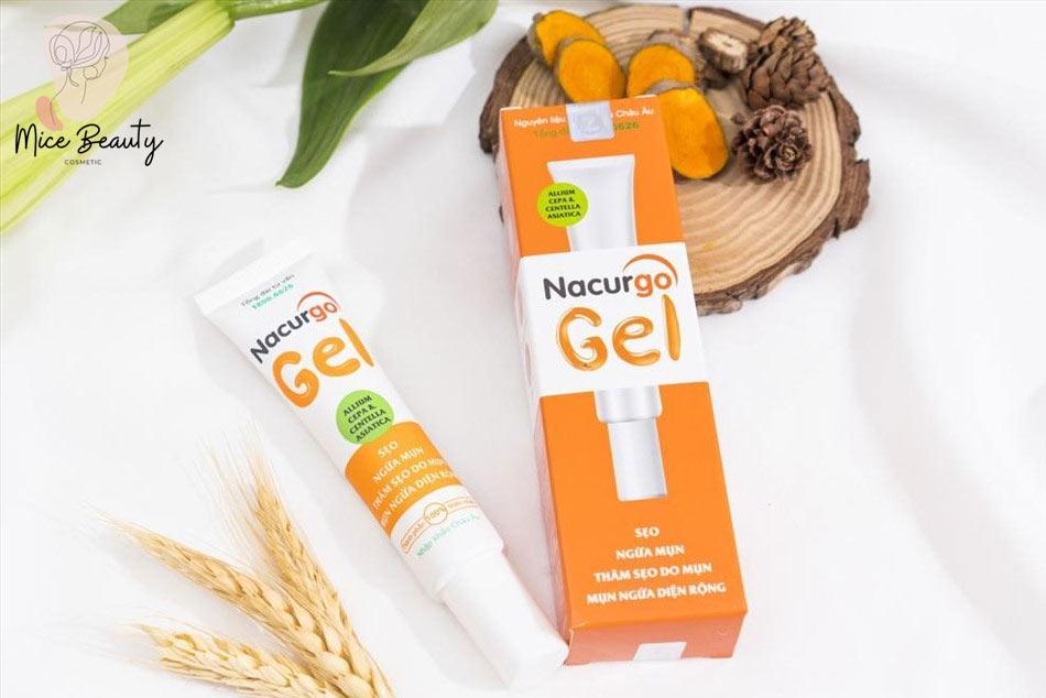 Nacurgo Gel - Giải pháp trị sẹo thâm hiệu quả