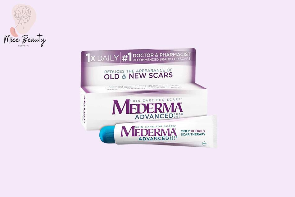 Trị sẹo lồi hiệu quả bằng kem trị sẹo Mederma của Mỹ