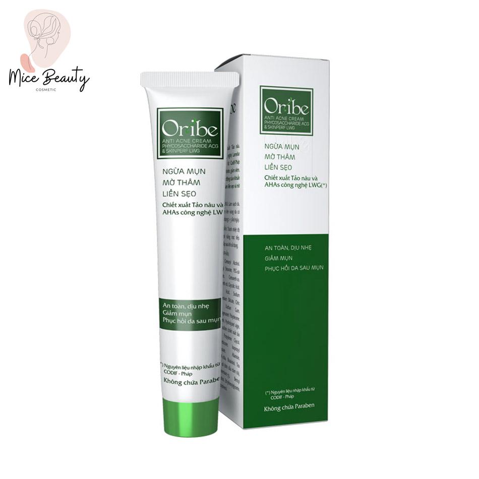 Dạng đóng gói của kem trị mụn Oribe Anti Acne
